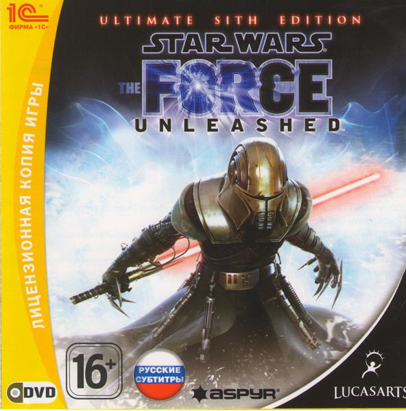 Star Wars The Force Unleashed Ultimate Sith Edition (PC DVD) (2 DVD)